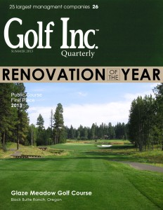 Golf Inc. Cover